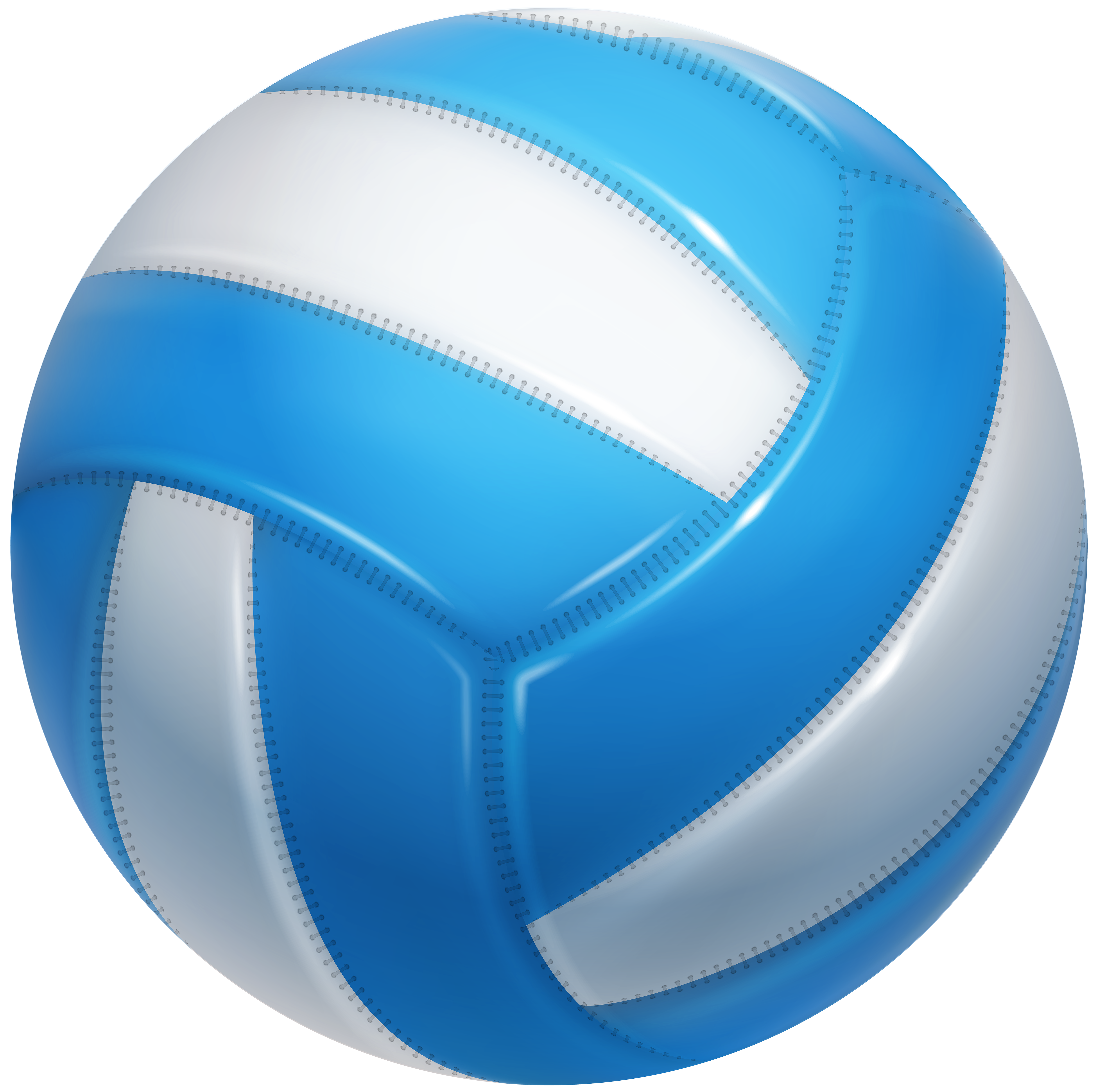 Volleyball ball png. Transparent clip art image