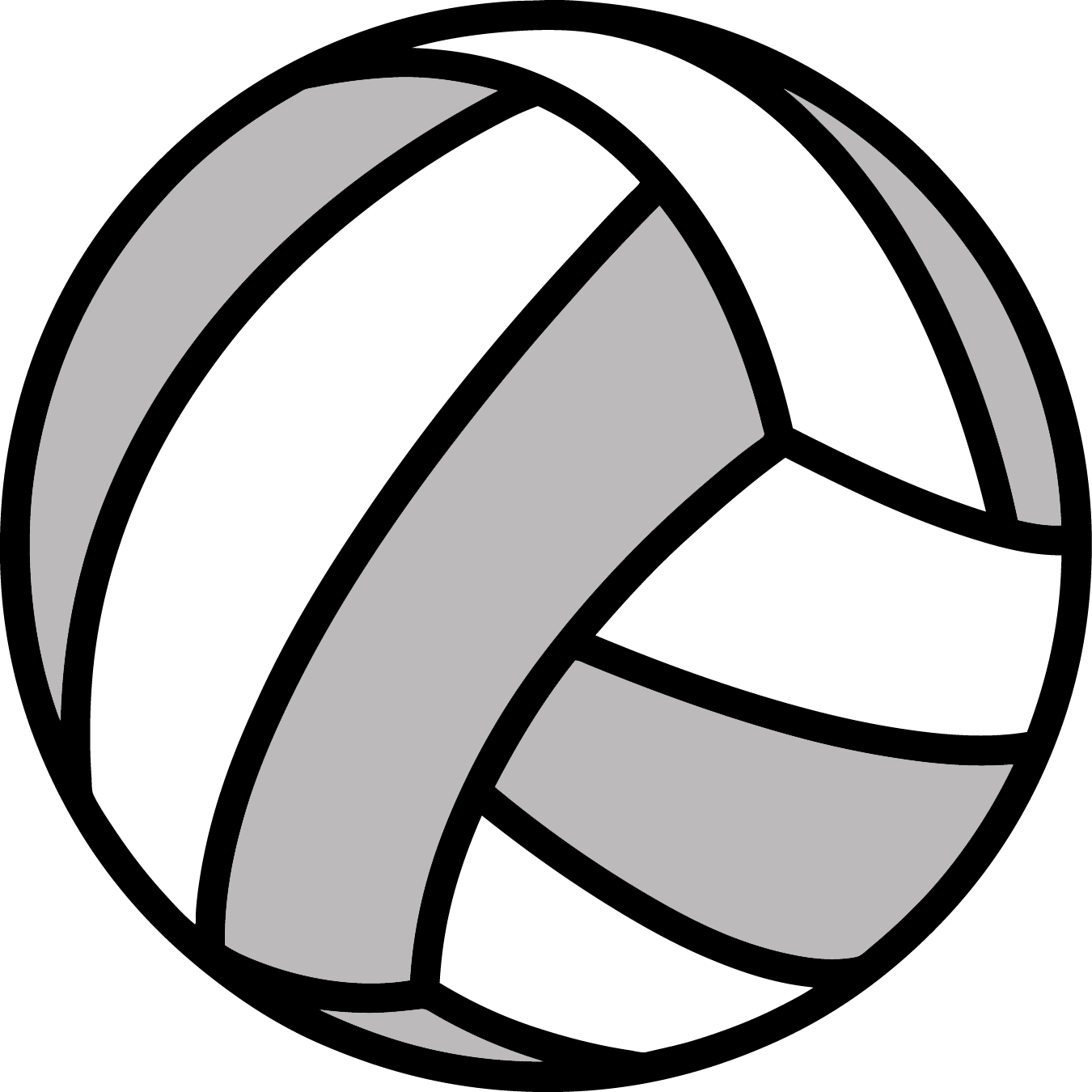 Cool Volleyball Clip Art