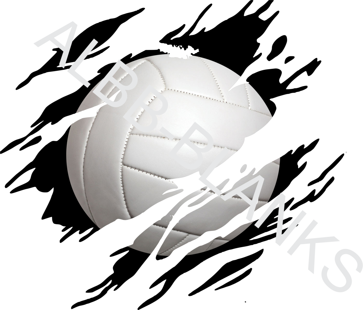 Volleyball clip blank. Clawed albb blanks