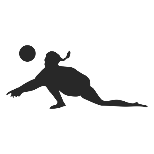 Pancakes vector svg. Volleyball player pancake silhouette