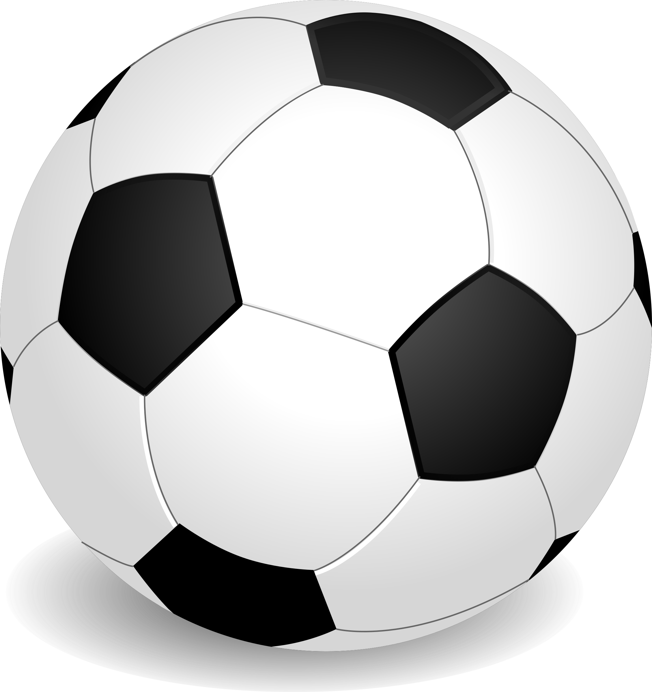 Volleyball clip old soccer ball. Football by flomar this