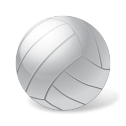 Volleyball clip vball. Clipart awesome and free