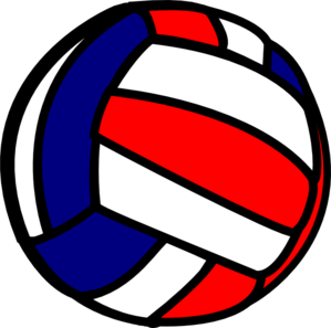 Volleyball clipart volleyball ball. Clip art at clker