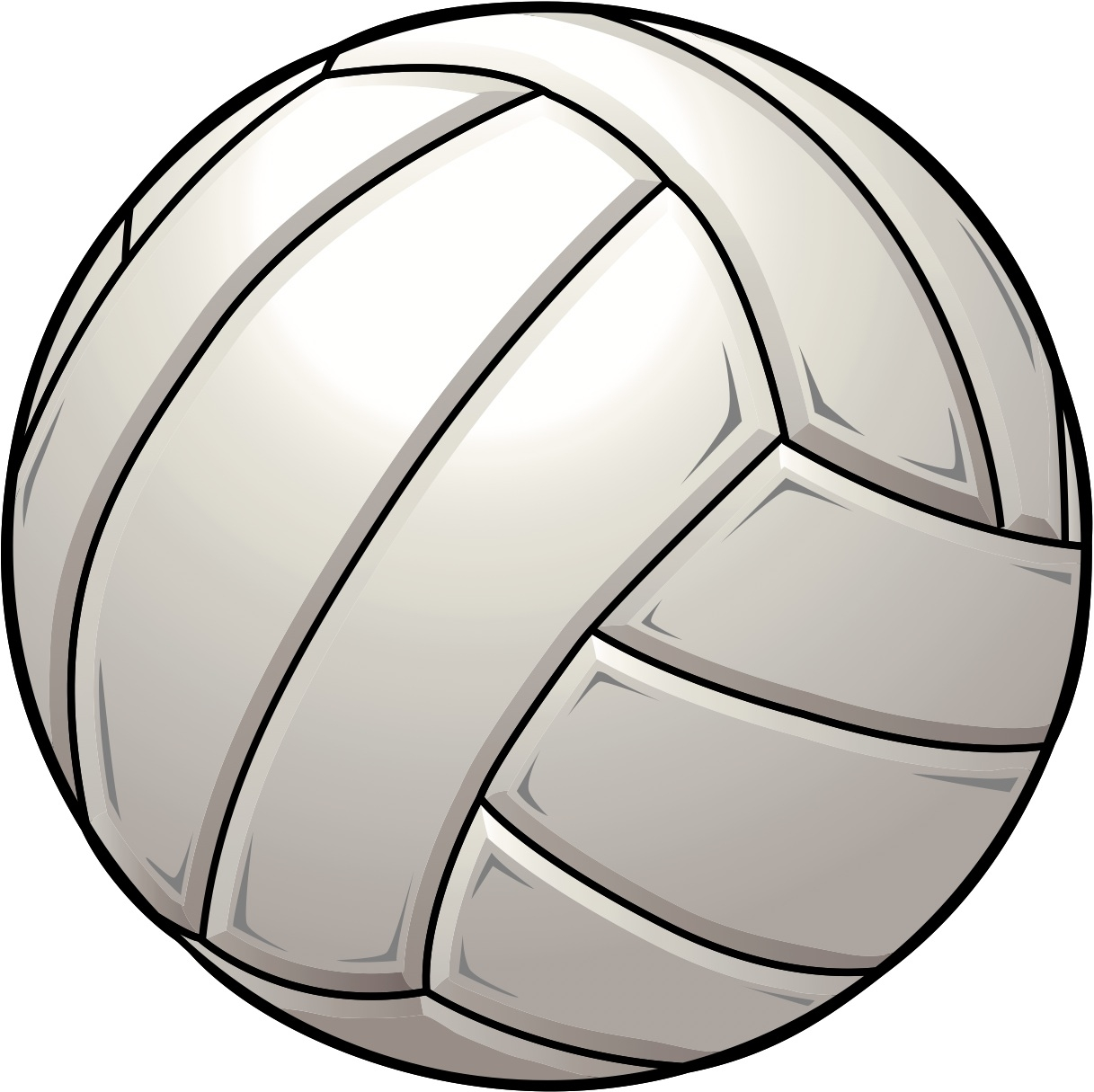 Volleyball clipart. Unique collection digital coloring
