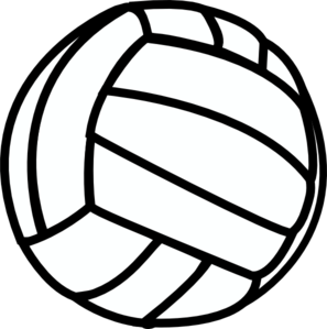Clip art vector online. Volleyball clipart hand clip freeuse stock