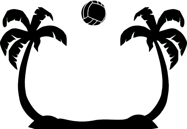 Chair clipart volleyball. Free vector art download