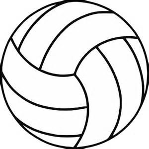 Volleyball clipart indoor volleyball. Free black and white