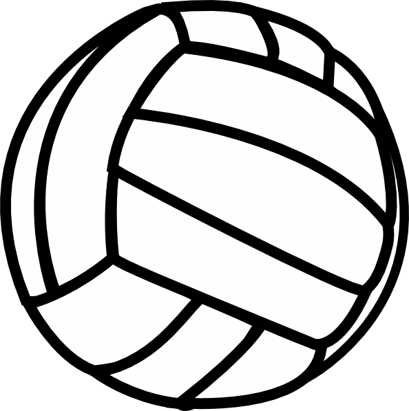 Volleyball clipart png. Clip art at clker