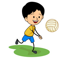 Volleyball clipart voleyball. Sports free to download