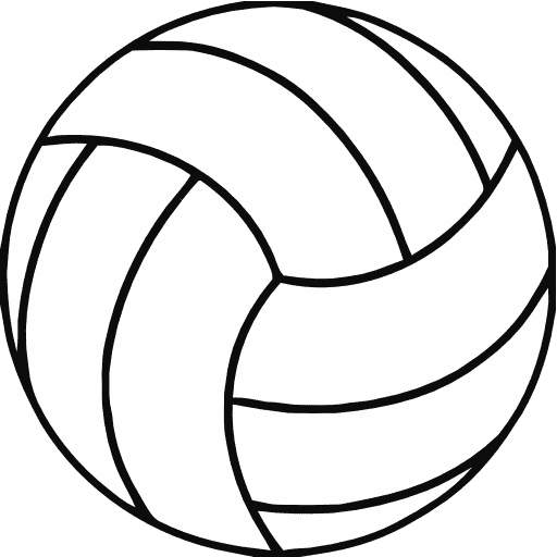 Volleyball clipart. Clip art shapes cwemi
