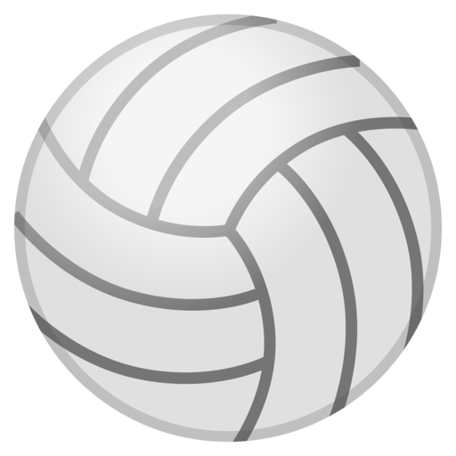 volleyball emoji png