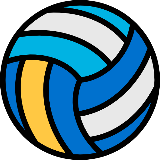 Volleyball icon png. Free sports icons