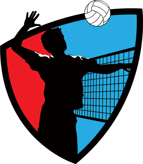 Volleyball logo png. League in morris county