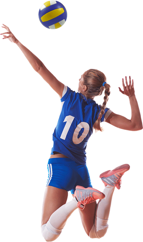 Volleyball player png. Image purepng free transparent