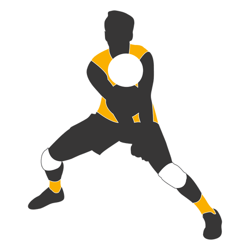 Volleyball player png. Male transparent svg vector