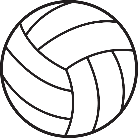 Png hd mart. Heart clipart volleyball image library download
