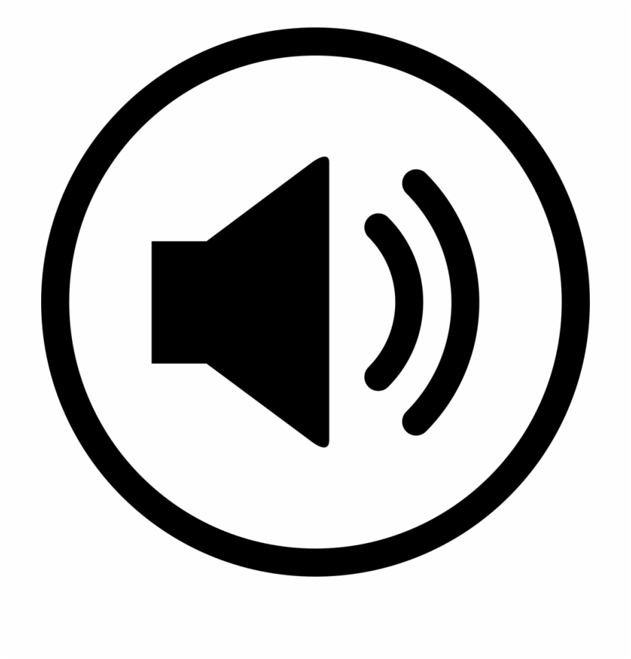 Volume control. Png file svg button