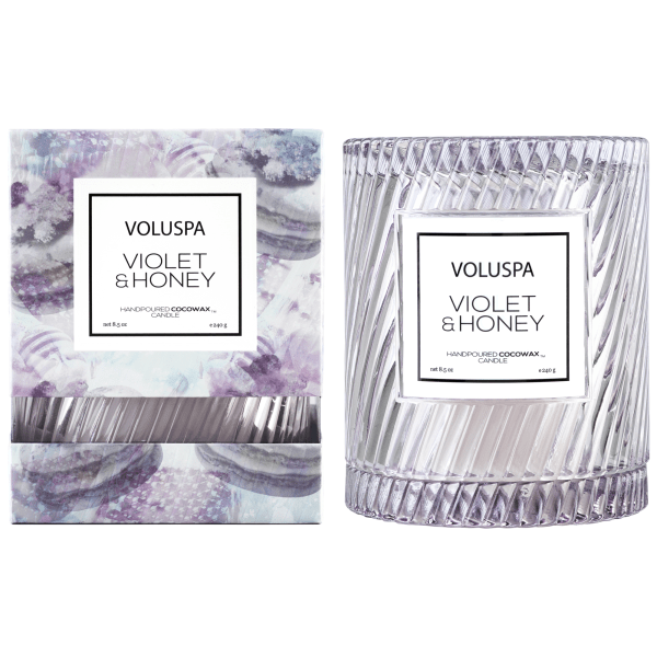 Voluspa candles png. Violet honey icon w