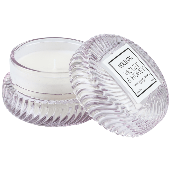Voluspa candles png. Violet and honey macaron
