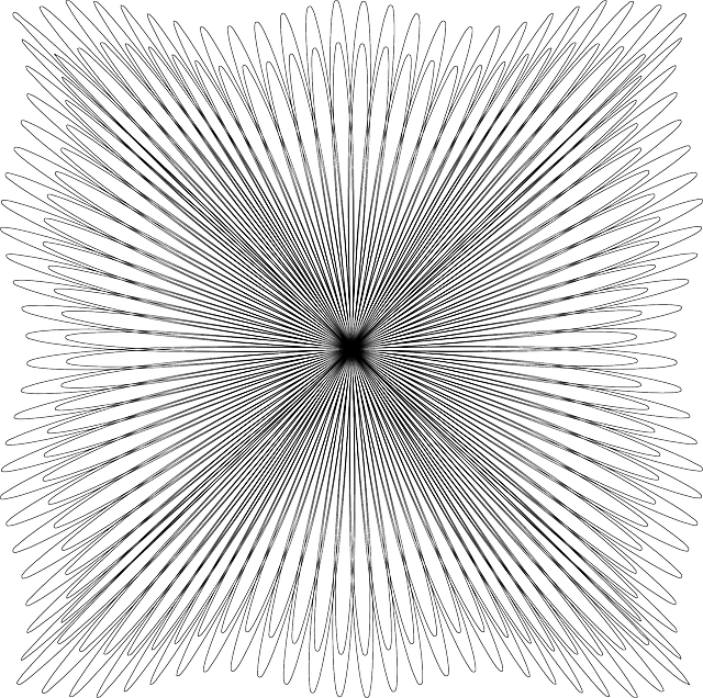 Free image on pixabay. Vortex vector black and white banner stock