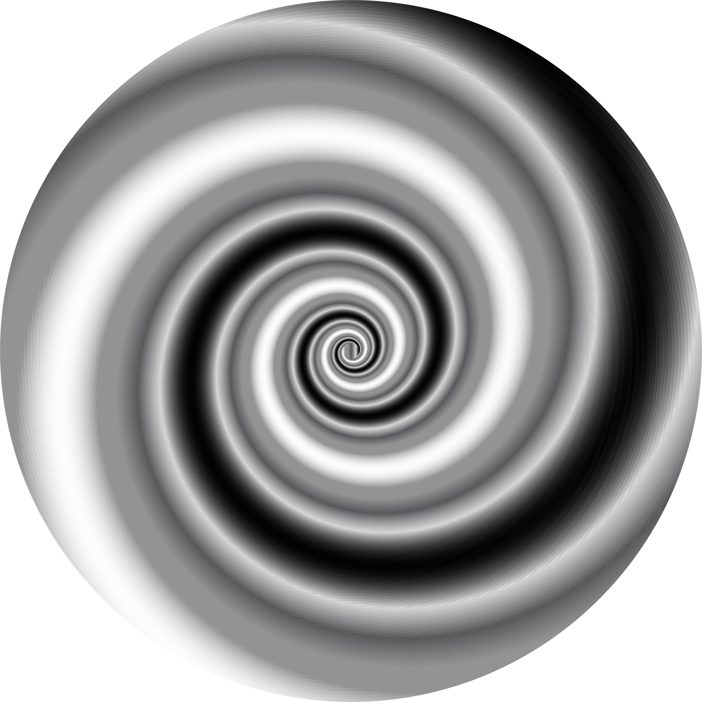 Vortex vector black and white. Colorful swirling icons png