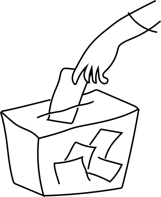 Vote drawing. Barbados general election results