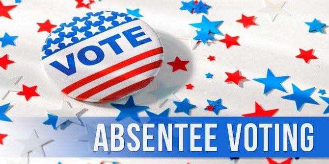 Voting clipart absentee ballot. Hancock county board of