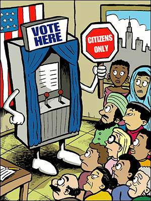 Voting clipart political right. Citizenship and