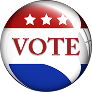 Vote button png. Free political clipart animations