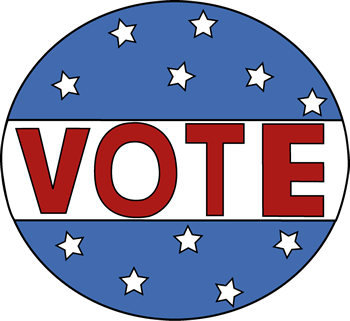 Voting clipart vote button. And elections lessons tes