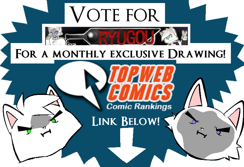 Voting drawing poster. Vote for ryugou monthly