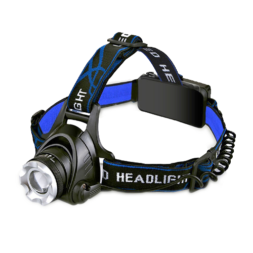 W clip headlamp. Model rechargeable led western
