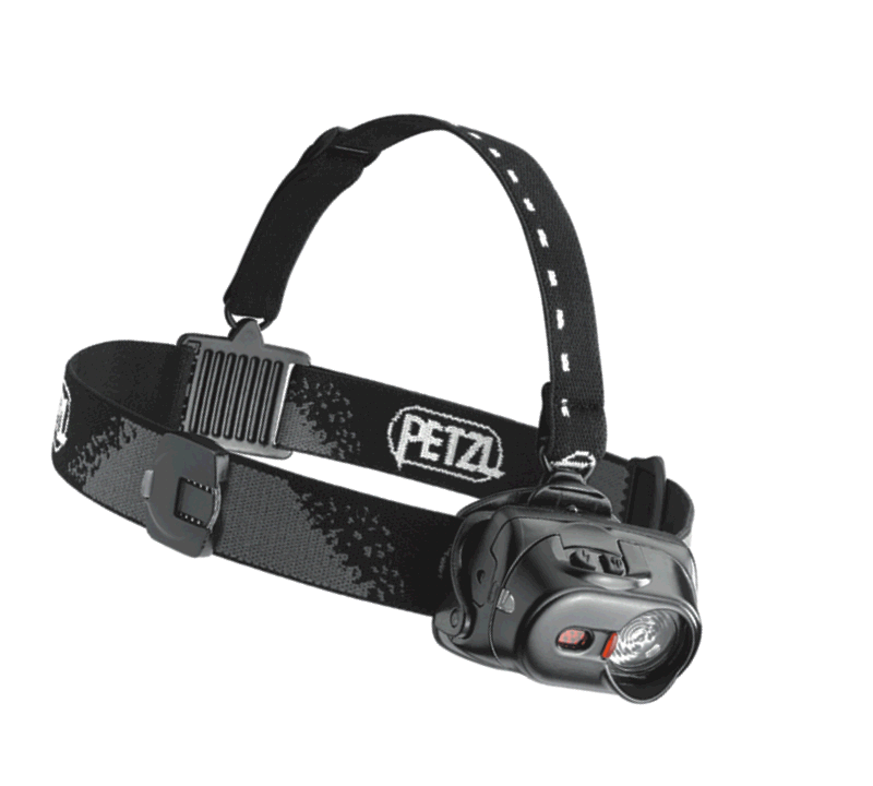 W clip headlamp. Yates gear petzl tactikka