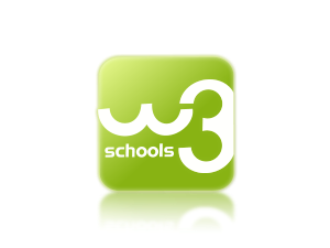 W3school svg logo. Complete collection of w