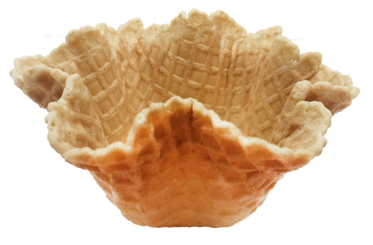 Waffle bowl png. Alba sweet small inch