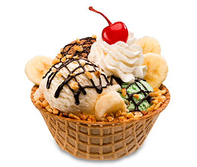 bowl of ice cream png
