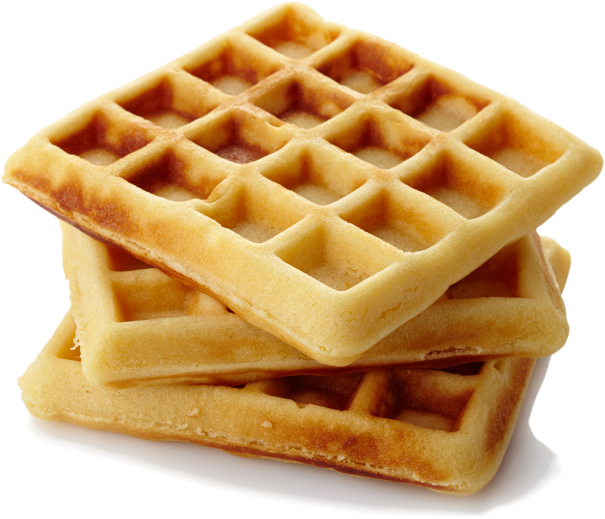 waffles transparent brown sugar