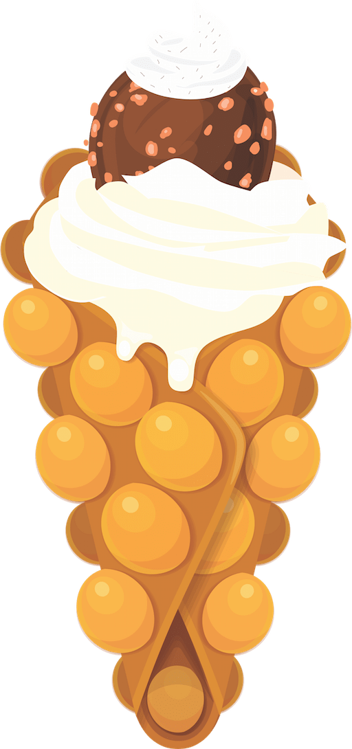 waffle clipart drawn