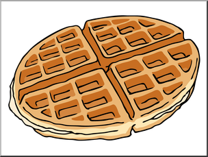 waffle clipart