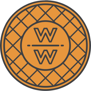 Waffle png circle. How to plan a