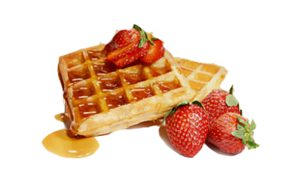 Waffles clipart plate. Waffle png images free