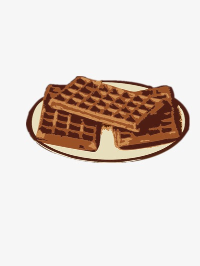 Waffle clipart plate. Waffles recover chocolate png