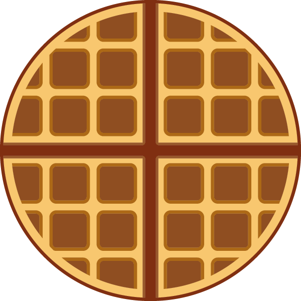 Waffle clipart square. Png image