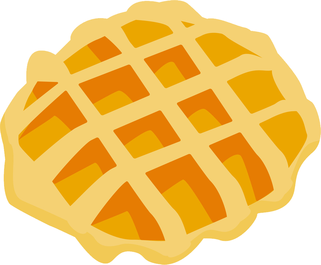 Waffle clipart png.