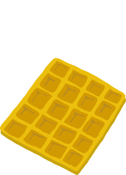 Waffle clipart png. Clip art at clker