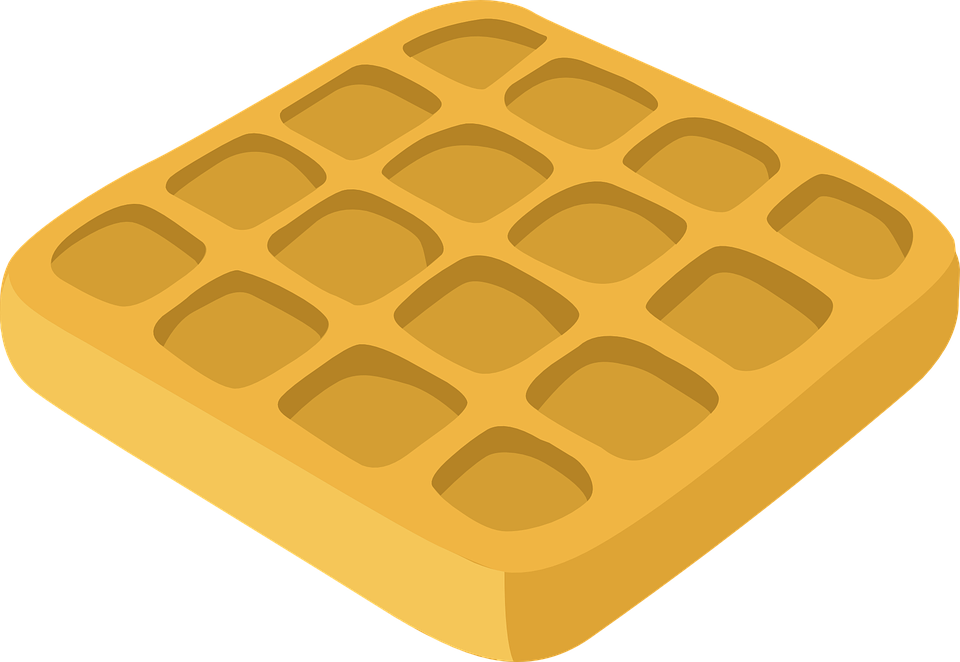 Waffle clipart round waffle. Png images free download