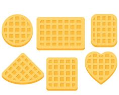 waffle clipart square waffle
