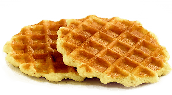 Waffle clipart transparent background. Butter waffles png stickpng