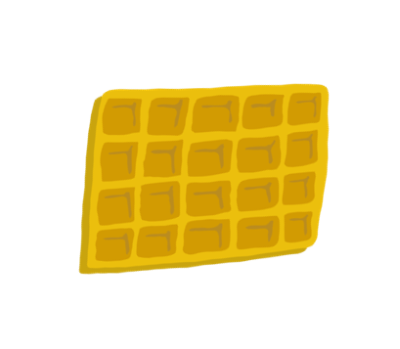 Waffle clipart square. Download free vector waffles
