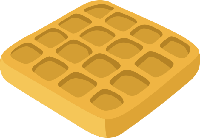 Waffle emoji png. An open letter to